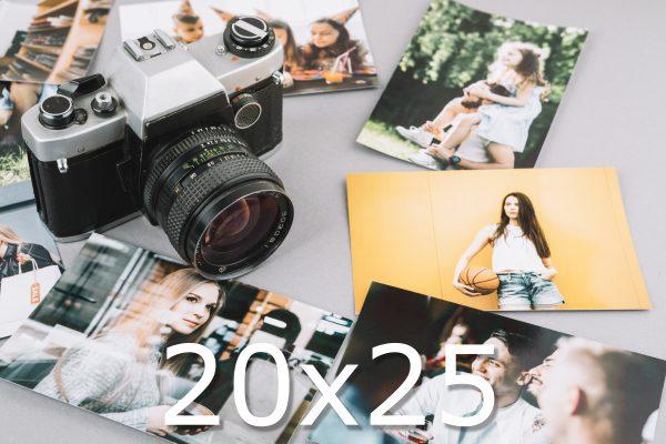 impresión 20x25