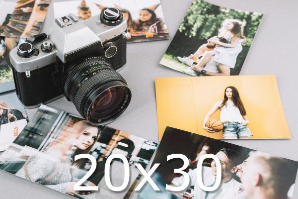 impresión 20x30