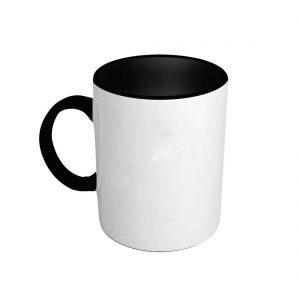 Foto taza negra