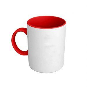 Foto taza roja