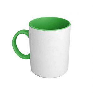 Foto taza verde